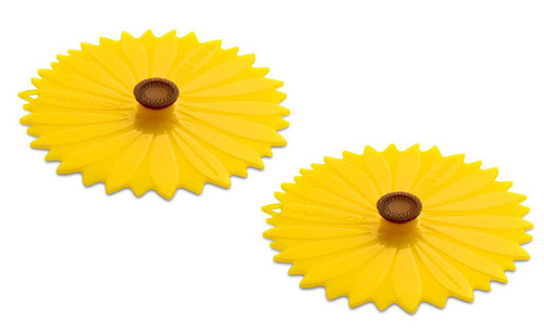 Charles Viancin Sunflower Drink Cover Set/2