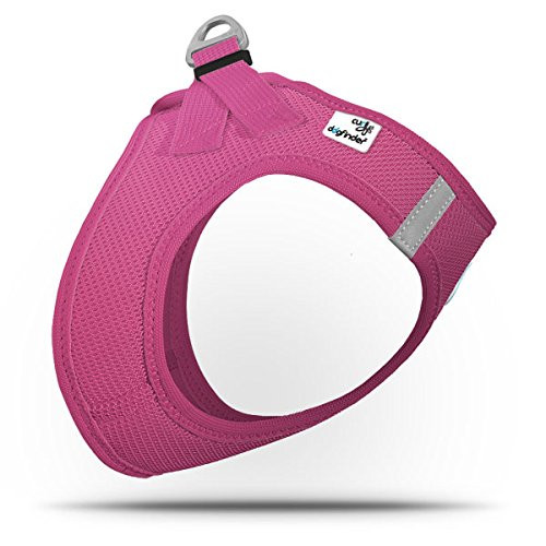 Curli Summer Air-Mesh Vest Harness with DogFinder ID (Magenta, 3XS)