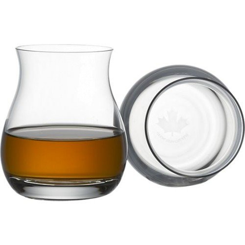 Glencairn Crystal Canadian Whisky Glass, Set of 2