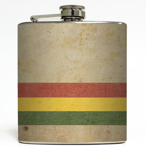 Marley - Liquid Courage Flasks - 6 oz. Stainless Steel Flask