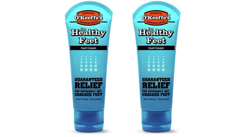 O'Keeffe's K0280004-2 Healthy Feet Foot Cream Tube (2 Pack), 3 oz