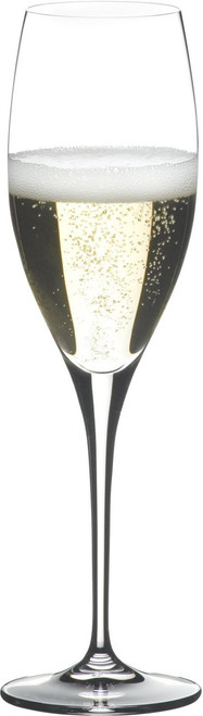 Riedel 6409/08 Heart To Heart Non-leaded Champagne Glasses, Set of 2