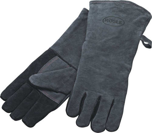 Rosle 25031 16-Inch Leather Grilling Gloves