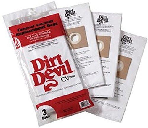Dirt Devil Central Vacuum bags 7767-W - Genuine - 3 Pack