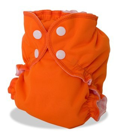 AppleCheeks Little Bundle Set Bamboo (Size 2, Orange You Glad)