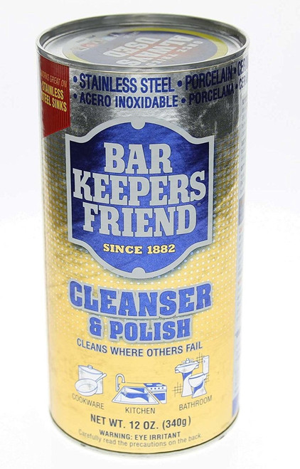 Bar Keepers Friend Cleanser & Polish, 12 oz. Pack of 2