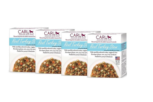 Caru Real Stews Dog Food - 12.5 Oz. (4 Pack) (Turkey)