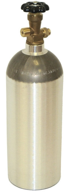 5lb co2 Tank- New Aluminum Cylinder with CGA320 Valve