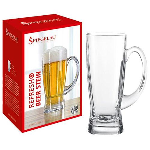 Spiegelau Refresh Beer Stein Glass, 21-7/8-Ounce