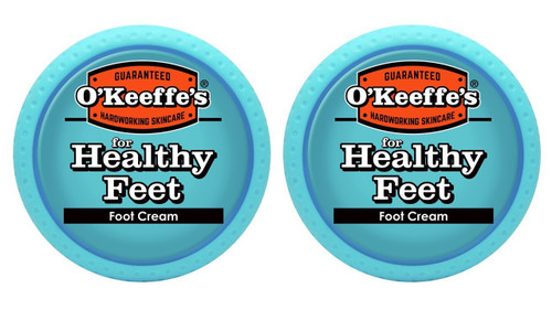 O'Keeffe's K0320001-2 Healthy Feet Foot Cream in Jar (2 Pack), 3.2 oz