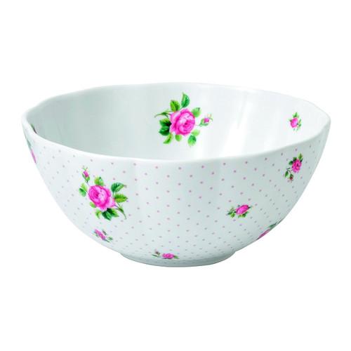 Royal Albert New Country Roses Baking Bliss Mixing Bowl, 3-Quart, White