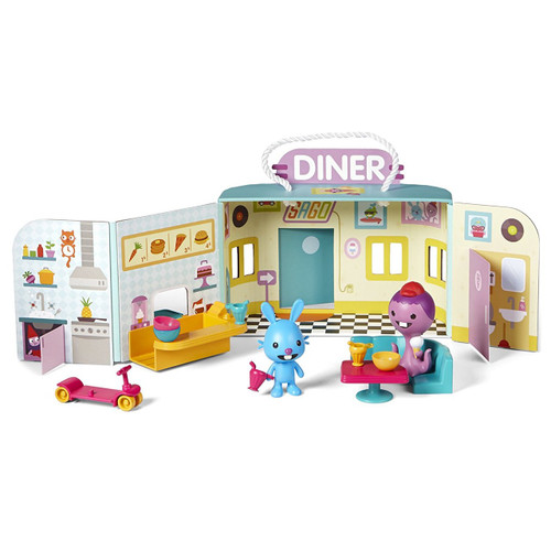 Sago Mini - Portable Playset: Jack's Diner