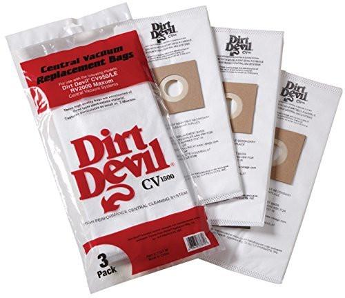 H-P Products Dirt Devil CV1500 Vacuum Filter Bag, (Pack of 9) part # 9597