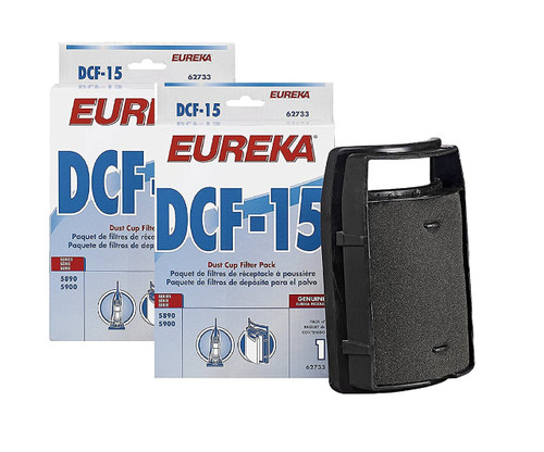 Eureka Filter (62733) Style DCF-15 2-Pack
