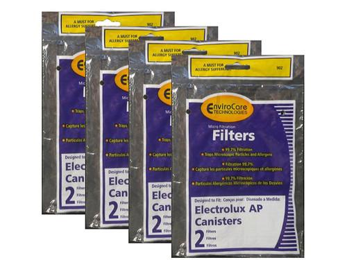 (8) Electrolux Aerus AP100 Canister Vacuum Micro electrostatic Filter LE 2100, Diplomat, Ambassador, Epic 6500, Full Kit, 200 350 622 10 , 079