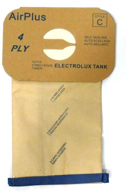 24 Vacuum Bags for Electrolux Canister - Style C - By Envirocare