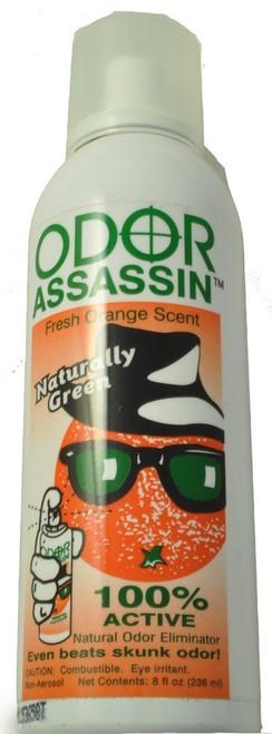 Odor Assassin Odor Eliminator Fresh Orange Scent, 8 Ounce