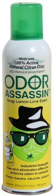 Odor Assassin Odor Eliminator, Lemon-Lime