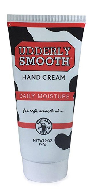 Udderly Smooth Hand Cream, 2 Oz Travel Size, Pack of 4
