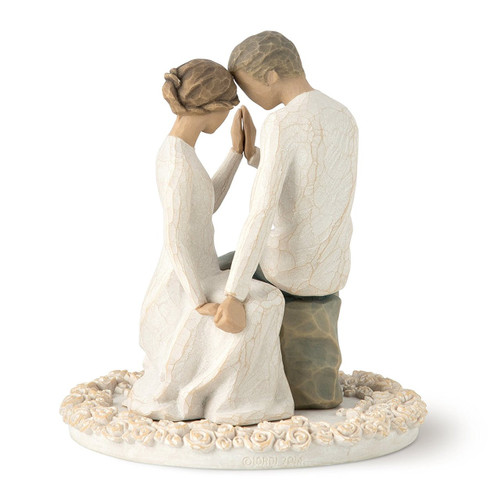 Willow Tree Around You Cake Topper Description