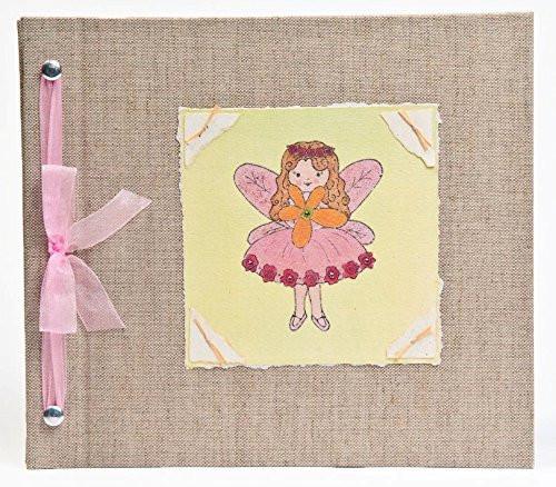 Baby Book - Baby Memory Book - Girl, Fairy, Baby Album - Fairy Baby Memory Book - Hugs and Kisses XO FAIRY Baby Memory Book