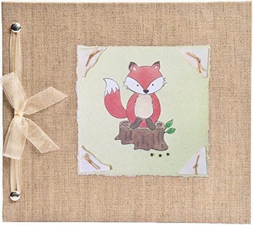Hugs and Kisses XO Fox Baby Memory Book