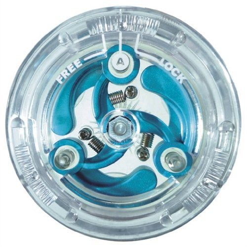 ActivePeople Triple Action Yo-Yo Toy (Crystal Edition)