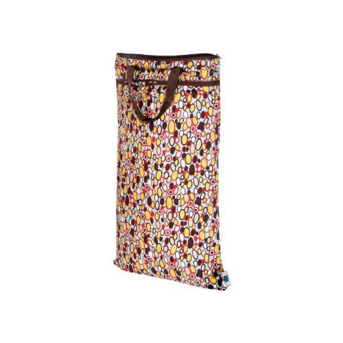 Planet Wise Hanging Wet/Dry Bag - Bangle Dots