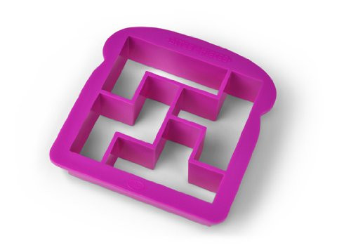 Fred & Friends BITES & PIECES Tetris-Style Crust Cutter