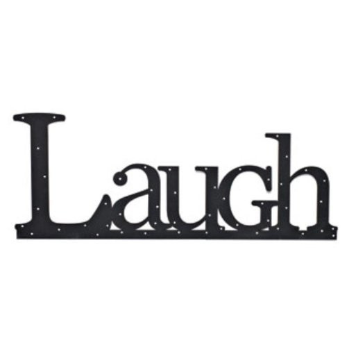 Embellish Your Story RETIRED Laugh Wall Word Retired - Embellish Your Story Roeda 13920-EMB