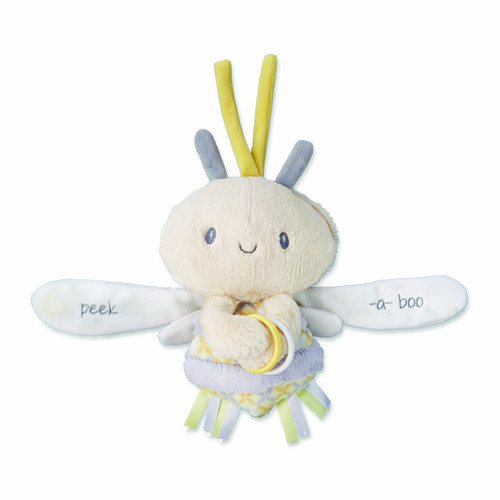 Nat and Jules Plush Toy, Zippi Peek-a-boo Bee