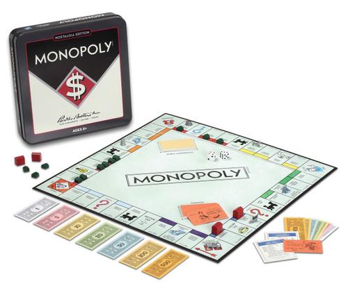 Monopoly Nostalgia Tin