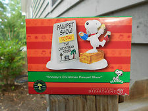Department 56 Peanuts Village Snoopy S Christmas