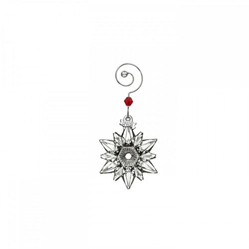 Waterford Crystal 2015 Mini Snowflake Ornament
