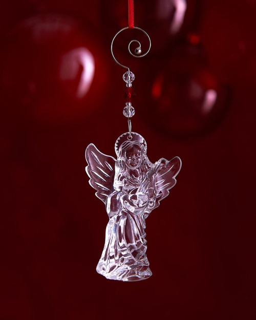Waterford 2015 Annual Crystal Angel Ornament