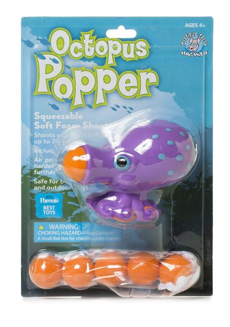 Hog Wild Octopus Popper Toy