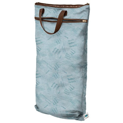 Planet Wise Hanging Diaper Wet/Dry Bag - BlueRecycle