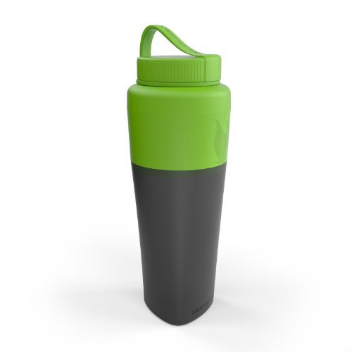 Light My Fire Collapsible Pack-Up Water Bottle, Green