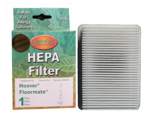 (2) Hoover Tank Pleated Floormate 3000/3030, Recovery w/activated Charcoal Filter, Hard Floor Cleaners, H3000, H3010, H3