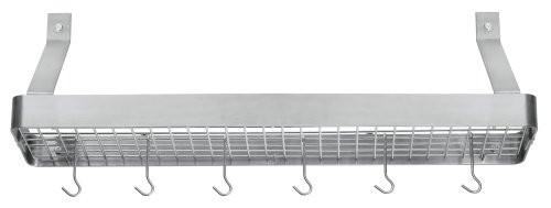 Cuisinart Chef's Classic 36-Inch Rectangular Wall-Mount Bookshelf Rack
