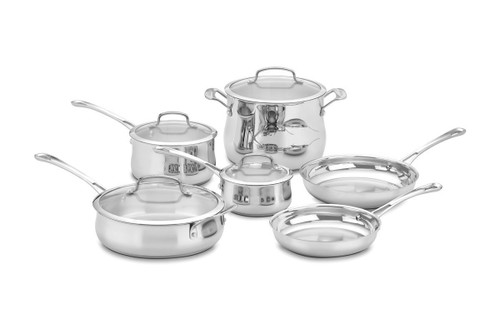 Cuisinart Contour Stainless Cookware