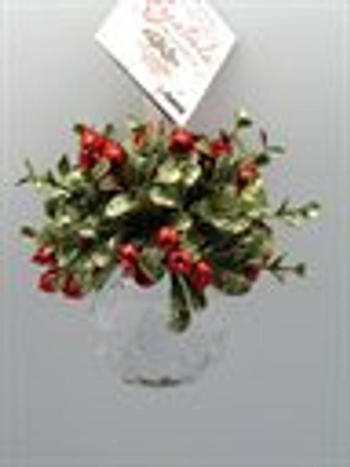 Ganz Mini Mistletoe Krystal Ornament Style
