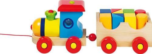 "Wooden London Train 12.5"" by Goki"