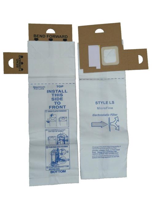 9 Eureka Cn 2 Cn2 Vacuum Bags By Envircare Series 6830