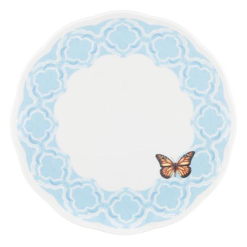 Lenox Butterfly Meadow Trellis Dinner Plate, Blue