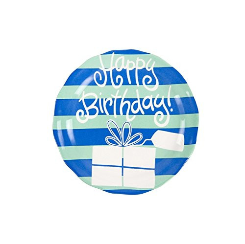 Birthday Ruffle Plate - Boy
