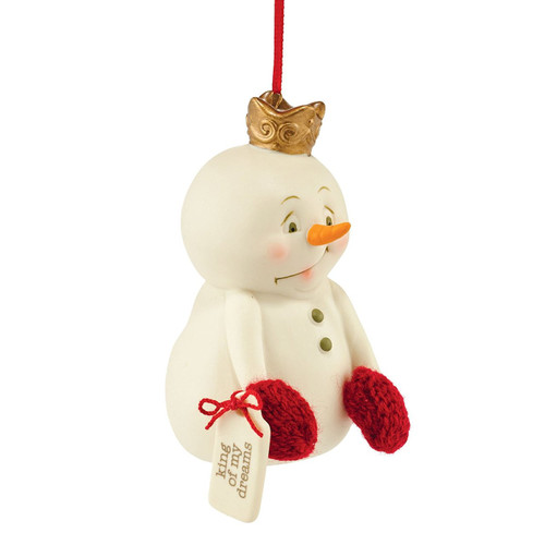 Department 56 Snowpinions King of My Dreams Ornament 3.46