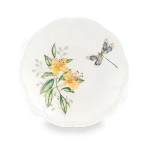 "Lenox Butterfly Meadow 6"" Party Plate"