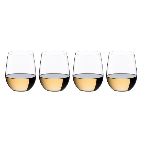 Riedel The O Viognier/Chardonnay Wine Tumbler 3+1 Value Gift Set