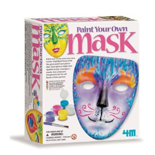 4M Paint Your Own Masks Kit